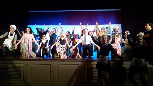 The Cast of The Drowsy Chaperone at STAR Ltd