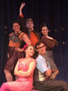 "The cast of Infinity Theatre Company's Elephant & Piggie's ""We Are in a Play"""