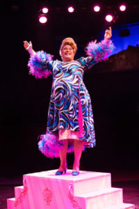 Lawrence B. Munsey as Edna Turnblad in Hairspray