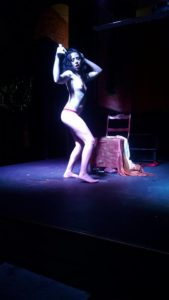 Tempete La Coeur performing as Inara at Heavenly Bodies