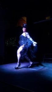 Tapitha Kix performing her Spice Melange routine at Heavenly Bodies
