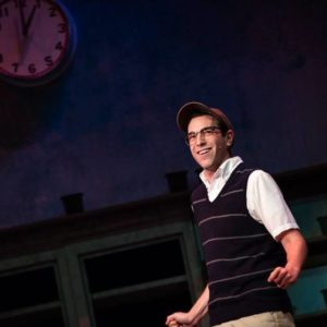 Jeremy Scott Blaustein as Seymour in Little Shop of Horrors