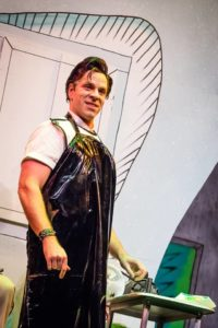 Russell Rinker as Orin Scrivello D.D.S. in Little Shop of Horrors