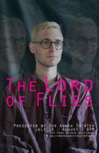 Jacob Budenz as Simon in The Lord of the Flies at Annex Theater