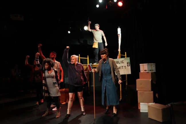 The Cast of Urinetown: The Musical at Monumental Theatre Company