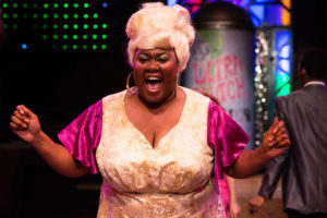 Kelli Blackwell as Motormouth Maybelle in Hairspray