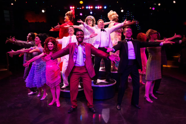 The cast of Hairspray at Toby's Dinner Theatre