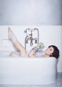 Siobhan O'Loughlin in Broken Bone Bathtub