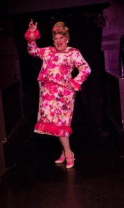 Larry Munsey as Edna Turnblad in the 2016 production of Hairspray