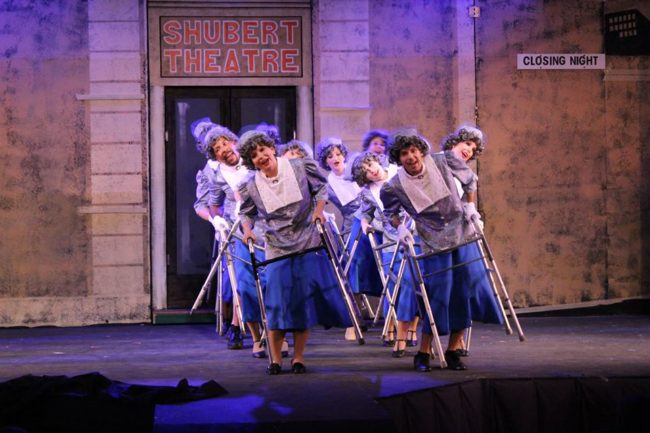 """""""Along Came Bialy"""" featuring the ensemble of Little Old Ladies as Choreographed by Emily Frank"""