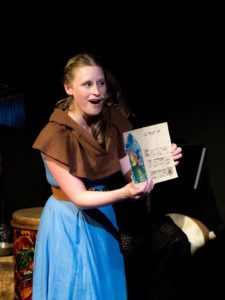 Christine Demuth as Brianna in The Missing Piece at Stillpointe Theatre