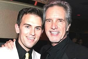Daniel Reichard (left) and Bob Gaudio (right)