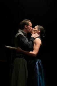 Joe Carlson as Antony and Jessica Lekfow as Cleopatra.