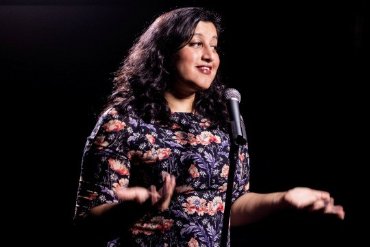 """Ritija Gupta, writer and performer of """"Charming the Destroyer: Questionable Choices in Search of the Sublime"""""""