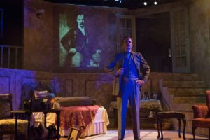 Sean Coe as Frederick Treves in The Elephant Man at Fells Point Corner Theatre