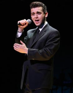 JERSEY BOYS - Broadway Company - August Wilson Theatre - New York, NY Michael Longoria as Frankie Valli