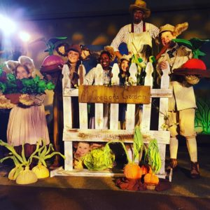 The cast of Peter Rabbit and Me at Pumpkin Theatre