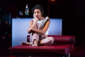 Ayana Workman as Juliet in Shakespeare Theatre Company's production of Romeo & Juliet, directed by Alan Paul.