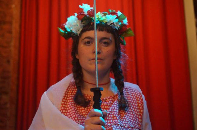 Allison Clendaniel in The Flower Queen