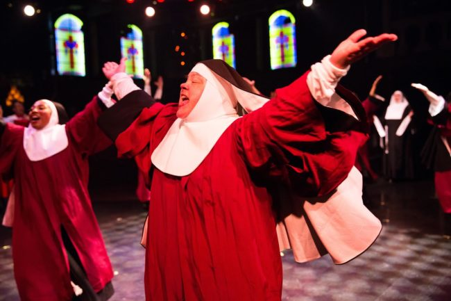 Jane C. Boyle as Sister Mary Martin of Tours in Sister Act