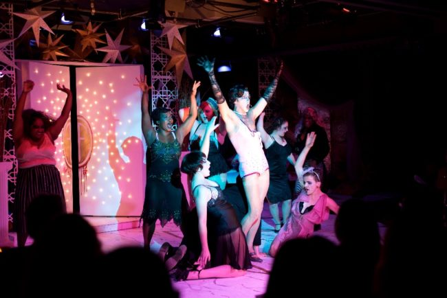 The Cast of Rocky Horror Show at Iron Crow Theatre