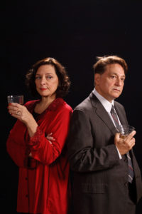 Debbie Barber-Eaton (left) as Martha and Joe Mariano (right) as George