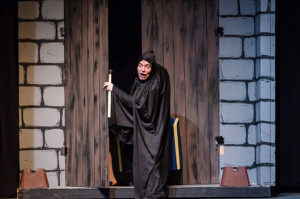 Matt Wetzel as Igor in Young Frankenstein