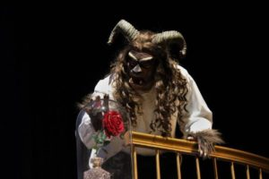 E. Lee Nicol as Beast in Beauty & The Beast at Charm City Players