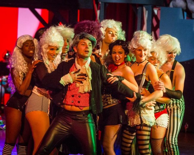 "The Cast of Maryland Ensemble Theatre's ""Rocky Horror Show"""