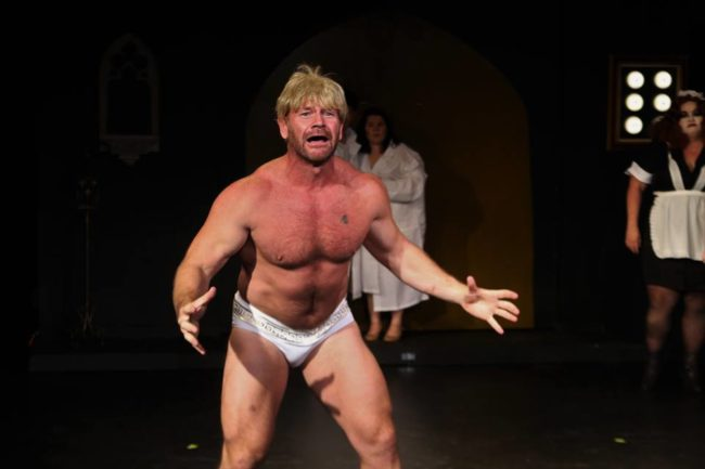 Jacques Snyman as Rocky in The Rocky Horror Show