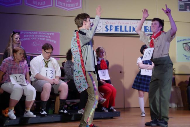 """Life is Pandemonium!"" at Heritage Players production of The 25th Annual Putnam County Spelling Bee"