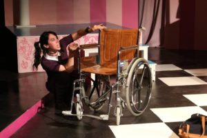 Char Bauer as Patty in Schoolgirl Figure