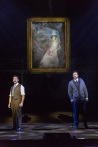 Josh Young (left) as Dr. Neville Craven and Michael Xavier (right) as Archibald Craven in The Secret Garden