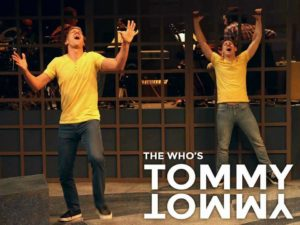 Russell Harvard (left) as Tommy and Will Hayes (right) as Voice of Tommy