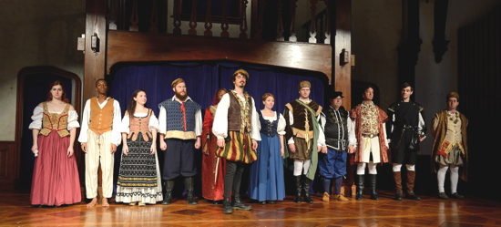 Baltimore Shakespeare Factory's cast of The Shoemaker's Holiday