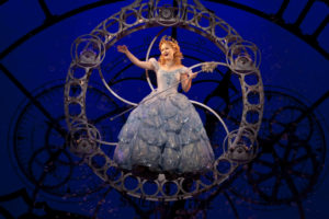 Amanda Jane Cooper as Glinda in Wicked