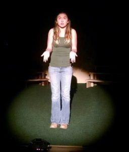Ellee VanBuskirk as Beth Bradley in The Best Christmas Pageant Ever!