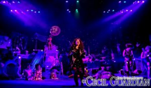 Lauren Spencer-Harris (center) as Grizabella and the ensemble of Cats