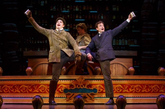 John Rapson (left) as Henry D'Ysquith and Kevin Massey (right) as Monty Navarro
