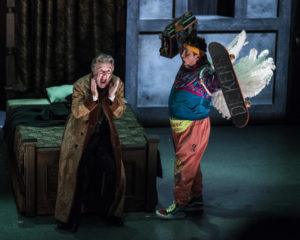 John Lescault and Frank Caeti in Twist Your Dickens_Photo by Theresa Castracane