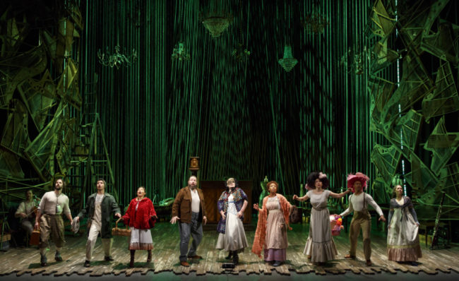 The company of Into The Woods. Photo by Joan Marcus