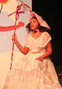 Olivia Woods as Little Bo Peep