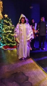 Lauren Giglio as The Ghost of Christmas Past