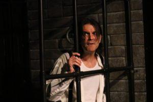 Steve Quintilian as Macheath in The Three Penny Opera