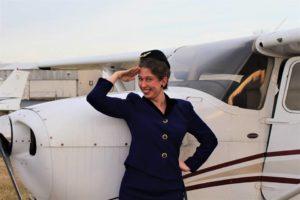 Moriah Whiteman as Gretchen in Boeing Boeing