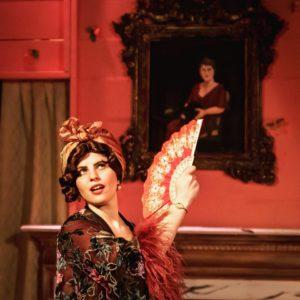 Zoe Kanter as Big Edie in Grey Gardens