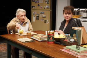 Roberta Maxwell and Amy Warren in Women of a Certain Age, Play Three of The Gabriels: Election Year in the Life of One Family, written and directed by Richard Nelson.