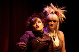 Alani Kravitz (left) as Lizzie Borden and Allyson Harkey (right) as Alice in Lizzie