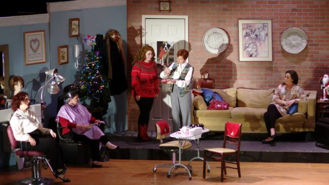 The cast of Steel Magnolias at Heritage Players