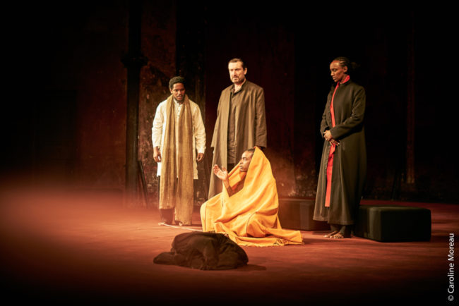 The company of Peter Brook's Battlefield